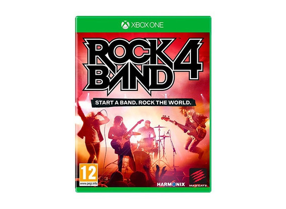 Jogo Rock Band 4 Xbox One - Mídia Física - Pronta Entrega