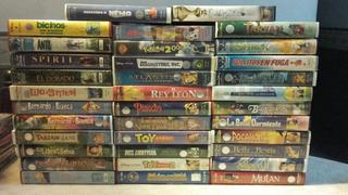 Películas Vhs Originales De Disney