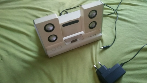 iPod Dock Altec Lansing Inmotion Funciona Pilha E Luz