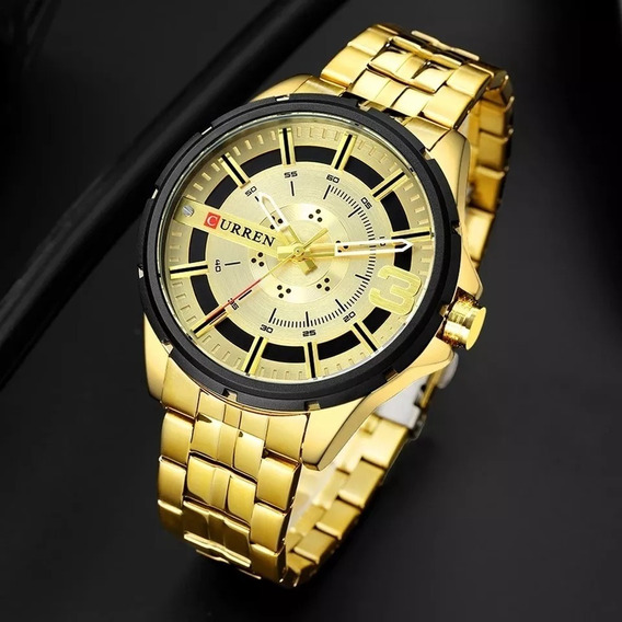 Relógio Masculino Original Luxo Prova D