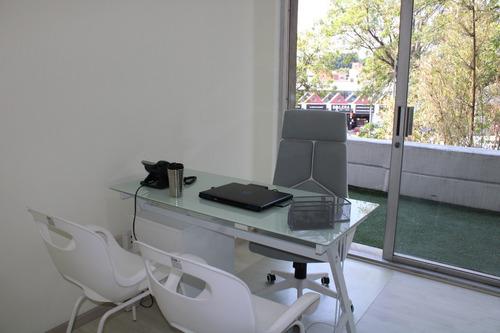 Imagen 1 de 14 de Oficina Sin Aval El Carmen Hue Puebla. Amuebladas. Tour 360º