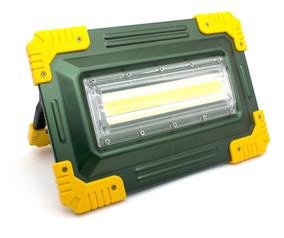 Lanterna Holofote Led Recarregavel Longo Alcance 6 Baterias