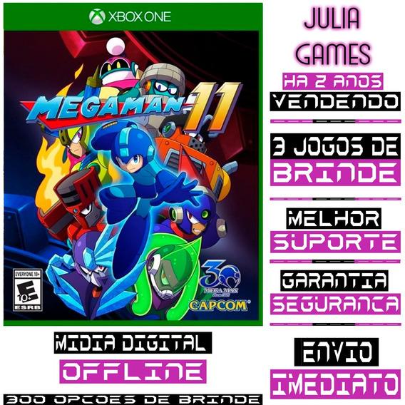 Mega Man 11 Xbox One Digital Offline + Brinde