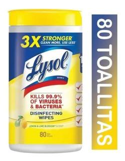 Bote Jumbo Toallitas Desinfectantes Lysol Antibacterial