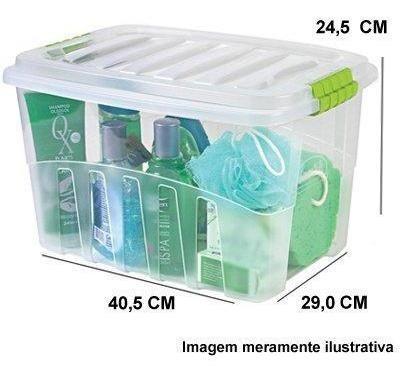 Caixa Organizadora Gran Box Alta Nr.1 19,8l 2890 Plasutil