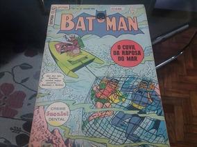 *ock* Batman 2ª Série Nº 13-julh/1962 Editora Ebal Original