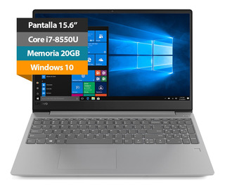Notebook Laptop Lenovo Ideapad 330s 15.6-inch Core I7 20gb 4