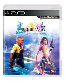 Final Fantasy X/x2 Hd Remaster Ps3 Mídia Física + Brinde