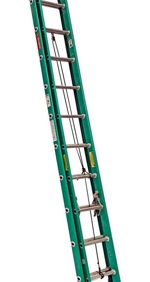 Escalera Extensión 20 Peldaños Fibra De Vidrio Envio Gratis