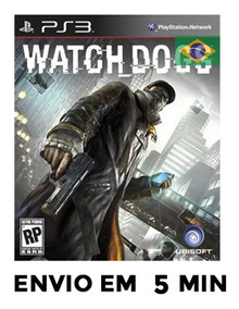 Watch Dogs Ps3 Português Psn Envio Agora