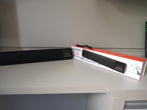 Caixa De Som H'maston Tv-28