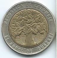 Moneda De Colombia 500 Pesos 2007 Excelente Xf