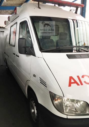 Ambulância Uti Sprinter Altech - 08/09 - Motor Novo
