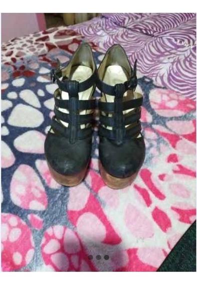 Lote De Botinetas Y Zapatos Plataforma