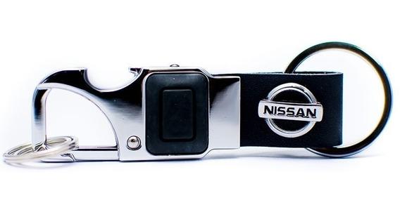 Chaveiro Nissan Lanterna Led Abridor De Garrafa Frete Único