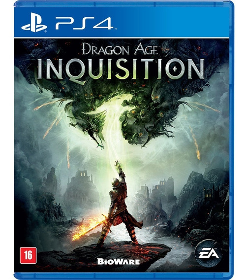 Ps4 - Dragon Age Inquisition - Mídia Física Original