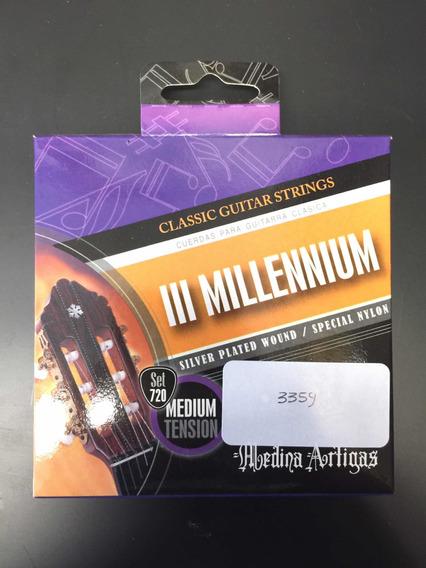 Encordado De Guitarra Criolla Millennium