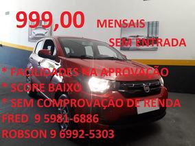 Fiat Mobi 1.0 Drive 2018 Mensais 999,00 Mensais