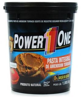 Pasta De Amendoim Integral Power 1 500 Gr- 2uni