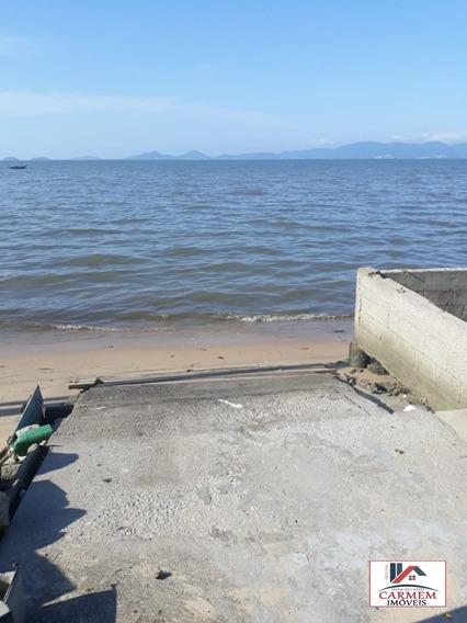 Excelente Casa De Frente Para O Mar Em Barreiros - 130