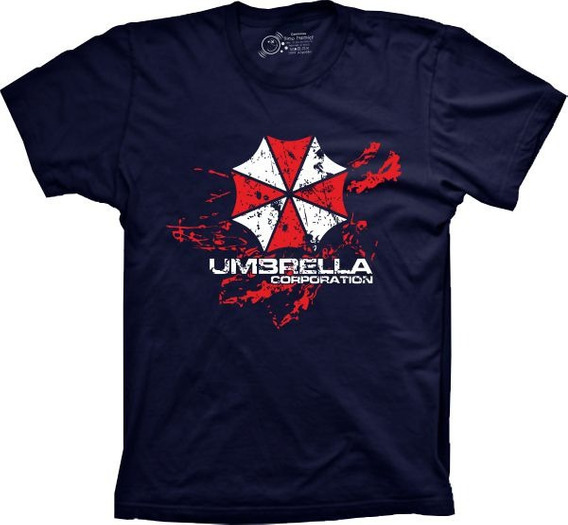 Camiseta Jogo - Resident Evil - Umbrella Corporation