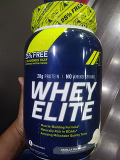 Proteina Whey Elite De 2.5libras