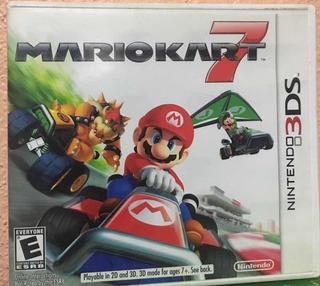 Mario Kart 7 3ds Como Nuevo