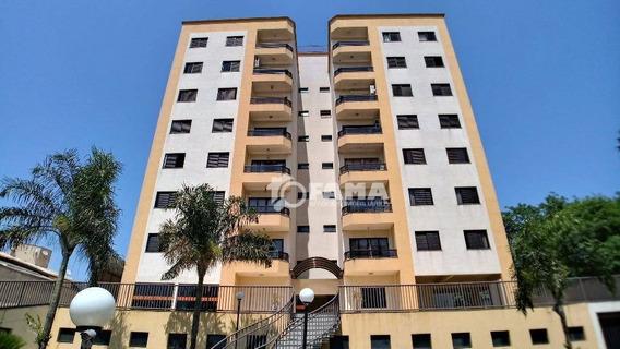 Apartamento Com 3 Dormitórios À Venda, 93 M² - Condomínio Ágape - Paulínia/sp - Ap0466