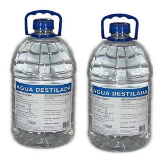 Kit C/ 2 Agua Destilada Galão 5 Litros Cinord