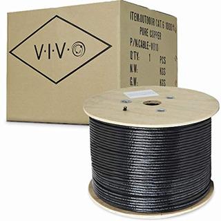 Vivo Nuevo Cable De Cobre Cat6 Ethernet Completo