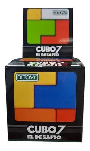 Imagen 1 de 5 de Cubo 7 El Desafío Armá El Cubo Original Ditoys