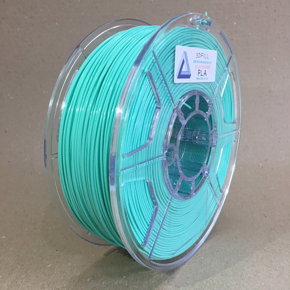 Filamento 3d Pla _ 1,75 Mm _ 1kg - Verde Tifany_frete Grátis
