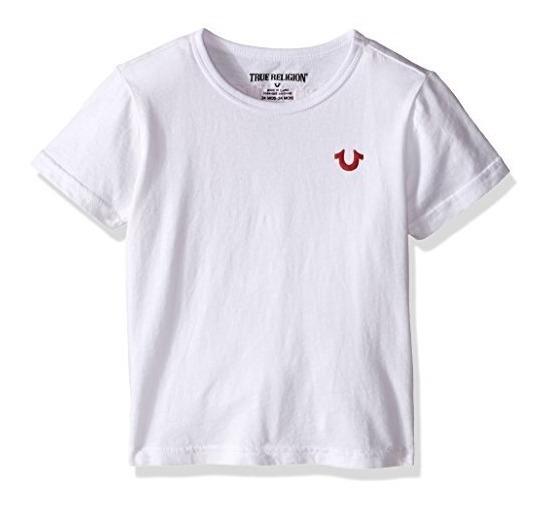 True Religion Camiseta Con El Logotipo Del Bebe De Ninos, Bu