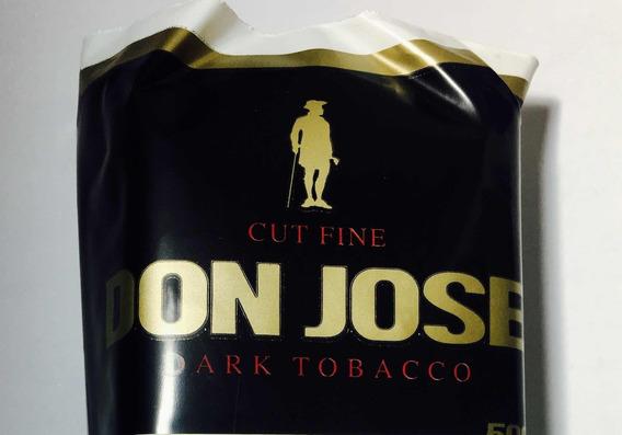 Tabaco P/armar Negro Don Jose 50 Grs Nacional