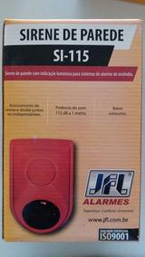 Sirene Para Sistemas De Incêndio Si-115