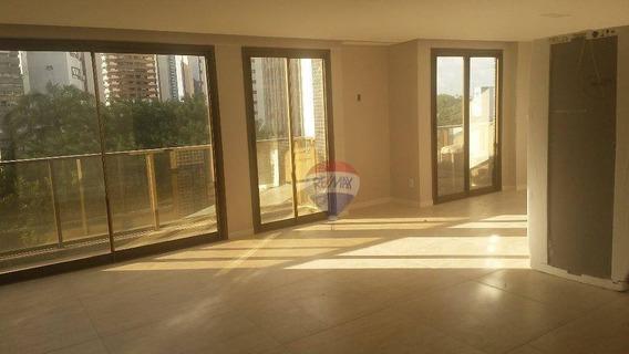 Apartamento Alto Padrão 2 Suite - Jaqueira - Com Todas As Taxas Inclusas - Ap0521