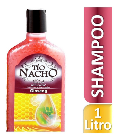 Shampoo Tío Nacho Anti-caída Ginseng 1 L Genomma Lab