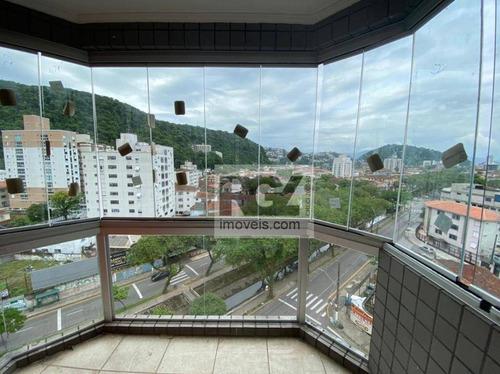 Cobertura Com 3 Dormitórios À Venda, 167 M² Por R$ 740.000,00 - Vila Belmiro - Santos/sp - Co0017