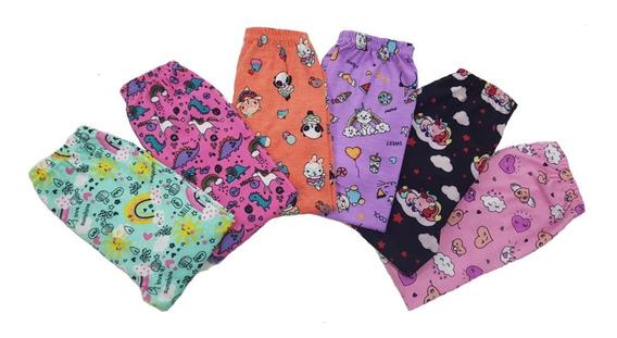 Calza Modal Nena Estampada Niñas Talles 4 Al 16