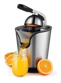 Mano Exprimidor Eléctrico De La Máquina Naranja Exprimido