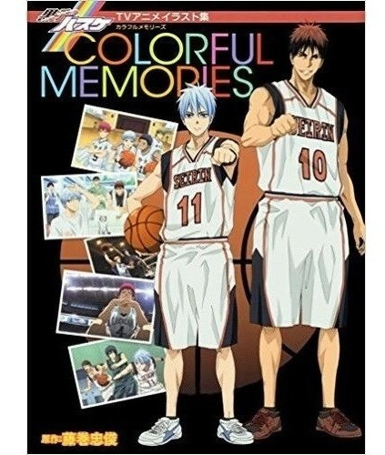 Imagen 1 de 4 de Artbook Kuroko No Basquet Colorful Memories Gastovic Anime