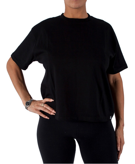 Remera Topper Basicos Wmn Negro Mujer