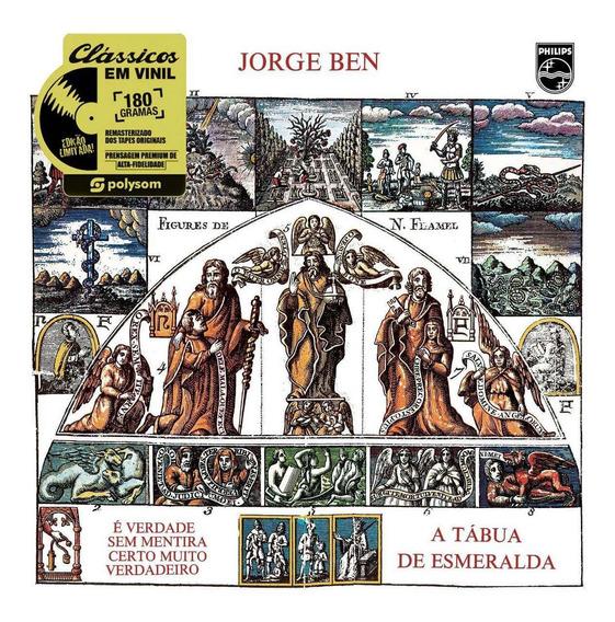 Lp Jorge Ben A Tabua De Esmeralda Vinil 180g Lacrado