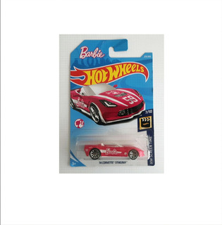 Hot Wheels Barbie 14 Corvette Stingray 7/10