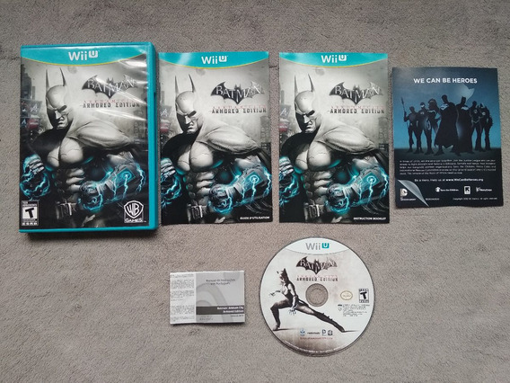 Wii U - Batman Arkham City Armored Edition, Original