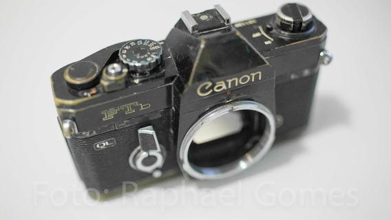 Câmera Canon Ftb Analógica