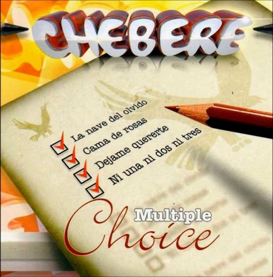 Cd Chebere Multiple Choice En Stock Musicanoba