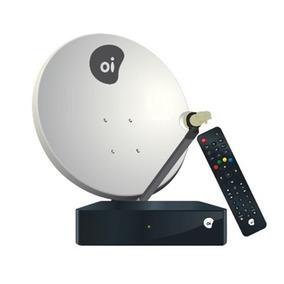 Receptor Oi Tv Livre Hd + Habilitação + Parabolica De 60cm.
