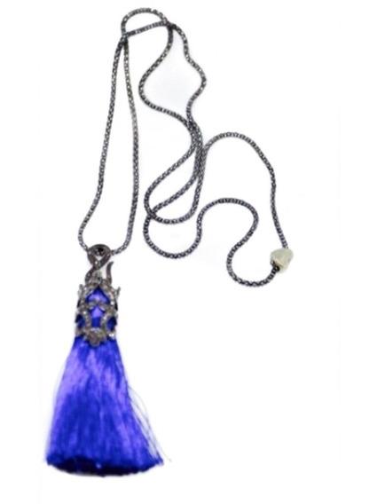 Colar Japamala Blue