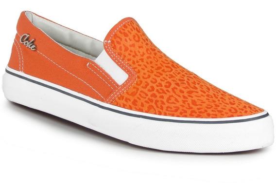 Zapatillas Coca Cola Shoes Iate Leopard Urbanas Moda Mujer
